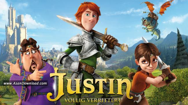 انیمیشن Justin And The Knights Of Valour جاستین و شوالیههای دلیر (دوبله فارسی)