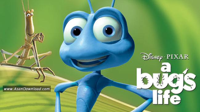 انیمیشن A Bugs Life 1998 زندگی یک حشره (دوبله فارسی)